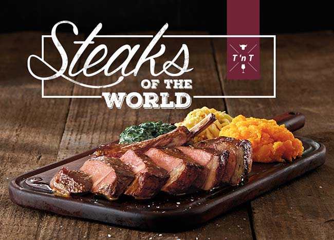 Turn n Tender Steaks of the World
