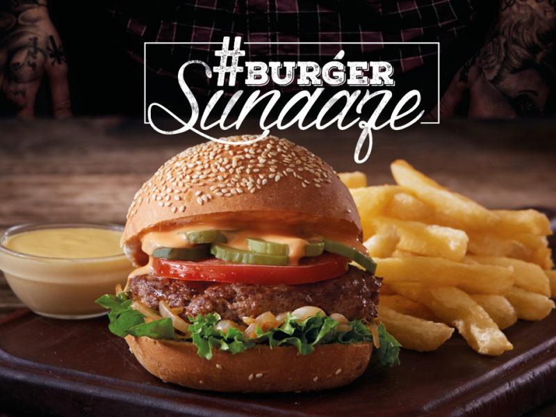Burger Sundae